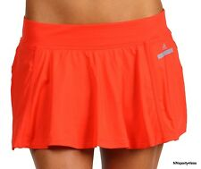 Adidas By Stella McCartney W56425 Performance Tennis Skirt Dance Fitness Tomato