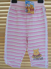 DISNEY BABY WINNIE THE POOH COMFY GIRLS TROUSERS BNWT (SIZES 0-18 MONTHS)