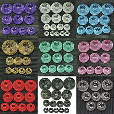 20pcs Craft Spacer Mesh Rondelle Ball Beads 12mm,14mm,16mm,20mm,25mm,30mm