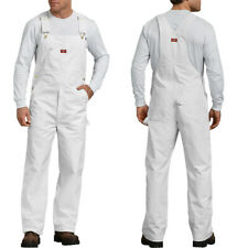 Dickies Overalls White Painters Bib Overall 8953 size 30-50