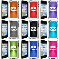 Apple iPod Touch 4th Generation 4g Hard Case Cover Sunglasses Mustache