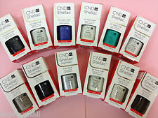 CND SHELLAC UV Gel Polish ALL COLORS .25 oz / 7.3 ml Part 2 - Shellac .25oz
