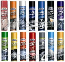CAR PRIDE VAN CARE CLEAN CLEANING VALETING WAXING CLEANER AEROSOL SPRAY BOTTLE