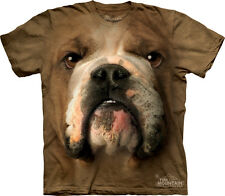The Mountain Dog Face Cotton T shirt - Bulldog - Adult Sizes