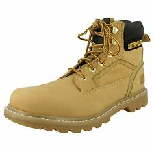 Mens Caterpillar Honey Nubuck Leather Lace Up Ankle Boots STICKSHIFT