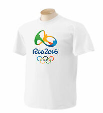 Olympic Rio 2016 T Shirt Shirts By Rock S,M,L,XL,XXL,XXXL #1