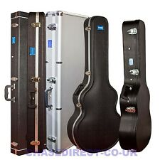 Chase Guitar Hard Case Hardshell Soft Interior Protection PVC ABS Flight