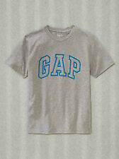NEW GAP GRAY LOGO TOP TEE SIZE XS 4/5 S 6/7 M 8