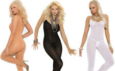 Very Sexy Lingere Opaque Body Stocking/Sock Open Crotch Plus Size Lingerie & S-L