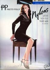 Pretty Polly RETRO hold ups & stockings: Nylons, Gloss & Italia LaceTops 10 den