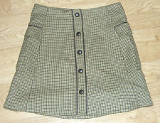 Military Style Button Through Short Skirt (Designer: PIED A TERRE) RRP £60