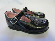 Girls Startrite Pixie Black Patent Leather Shoe  F,G & H Fittings
