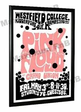 Pink Floyd Concert Poster Westfield College Hampstead  North London 1968