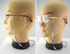 (S2)Cords for Glasses,Spactacles.Stainless Steel String with Beads Strap/Chain