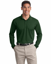 Sport-Tek Men's Casual Moisture Wicking Casual Polyester Polo Shirt. ST657