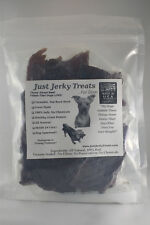 Natural Beef Jerky Dog Treats - 100% Beef, Made In USA, No Chemicals Or Fillers!