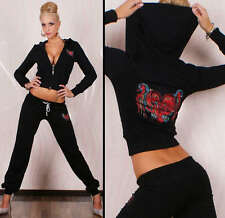 Hot & Sexy Redial Tattoo full tracksuit with hood 2 colours size 8-12