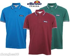 Ellesse Mens Challenge Tip Polo Shirt Gents Classic Design Tee T-Shirts Top