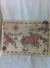 Pottery Barn Kids PIRATE EXPLORER FLOWER Placemats Set of 4 NWT Many Available