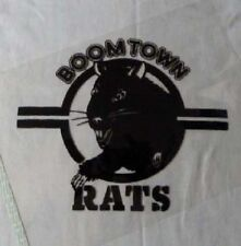 BOOMTOWN RATS T-SHIRT BOB GELDOF LIVE AID PUNK NEW WAVE BLONDIE PUNK BUZZCOCKS