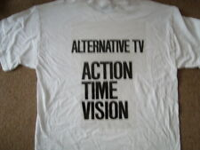 ALTERNATIVE TV ACTION TIME VISION T-SHIRT PUNK DAMNED SEX PISTOLS MARK PERRY