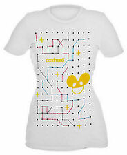 DEADMAU5 RED BLUE YELLOW CONNECT THE DOTS ZIMMERMAN LICENSED WHITE T SHIRT BOX48
