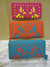 Ladies Ella Zip Up Purse With Butterfly Design, Available In 3 Colours, 72435