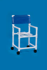 WHEELED ROLLING SHOWER  CHAIR MADE FROM NO-RUST PVC