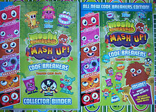 moshi monsters series 3 code breakers base and micro text cards pick any u need