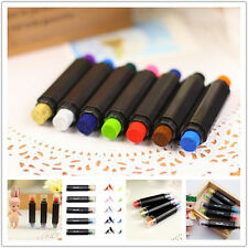 7 Colors Brand New 2 IN 1 Craft InkPad Pen  Rubber Stamp Ink Pad Game Fun