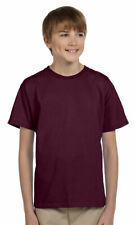 Hanes Youth ComfortBlend Short Sleeve Double Needle Tagless T-Shirt. 5370