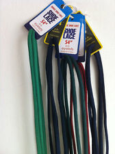 """Athletic Round Shoestrings 54"""" Oval Solid colors"""