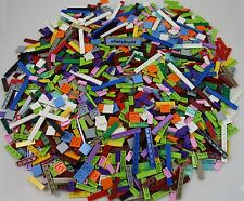 LEGO - Assorted Tiles Lot 1x2 2x2 1x4 1x6 1x8 - Flat Finishing Plate Smooth Bulk
