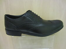 Mens Clarks Lace Up Brogue Leather Shoe, Brint Brogue