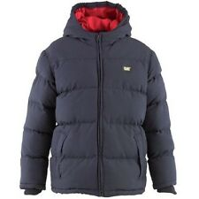 CATERPILLAR BOYS JACKET KIDS INFANT PUFFA COAT 2, 3, 4 YEARS NAVYBLUE HOODED NEW