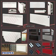 ADAX VP10 & NOVA LIVE White Electric Panel Heaters - Wall Mounted Convector Rads