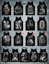 DGA David Gonzales Homies Chicano Art Ride Or Die Motorcycle Mens Tank Top Shirt