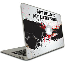 """(11/13/15) in MacBook (Pro/Air) Skins - Movie Quote - Scarface - """"Say hello..."""""""