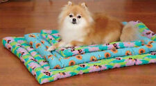 Slumber Pet Flutter Bugs Canvas Crate Mats Dog Mat Bed Cage Lady Bug Bumble Bee