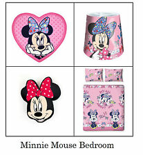 Minnie Mouse Disney Girls Bedroom Makeover. Children's Bedroom Bedding, Curtains