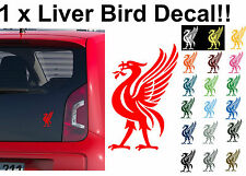 1 x Gloss Liverpool Liver Bird Print Sticker Bumper Decals