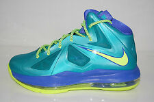 Nike 543564-304 Grade School Youth Lebron 10 kids Sport Turquoise Volt