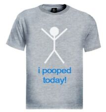 I Pooped Today! T-Shirt Fathers Day Gift College Humor sanchez Rude keep calm