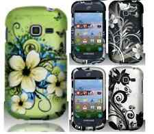For Samsung Galaxy Centura Discover Flowers Hard Cover Case Net 10 Straight Talk