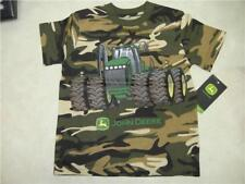 Youth John Deere Camouflage w/Tractor T-Shirt **NWT**