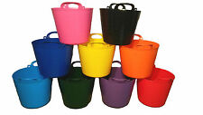 PACK OF 3 - 26L FLEXI TUB / TUBS / BUCKETS / CONTAINER FOR GARDEN MADE IN UK