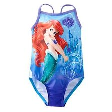 LITTLE MERMAID ARIEL DISNEY UPF50+ Swim Bathing Suit NWT Sizes 2T, 3T or 4T  $24