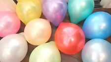 "100 PCS Latex Balloons Party Wedding Birthday Assorted Color 10"" Get Free Ones"