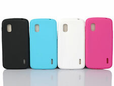 Newest Silicone Soft Gel Case Cover Phone Accessory For LG Google Nexus 4 E960