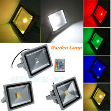 10W 20W 30W 50W IP65 LED Flood Light Spot Landscape Lamp RGB/Warm/Cool White